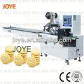 Fluxo mini bolo/massa biscuit máquina de embalagem jy-300 para o bom desempenho