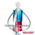 Metal bahçe fırıldak dinamo tedarikçisi wellsee ws-wt400w 1.5m/s başlangıç güneybatısında alüminyum