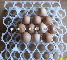 Alta qualidade colorido de plástico proteger ovo - caixas de incubação forma de plástico bandeja de ovos incubadora transporte ovo tureing bandeja / caixa