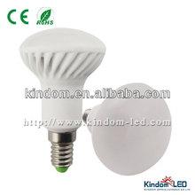 EU Polular A50 E14 6W Ceramic Led Bulb, Ra>85, 600LM