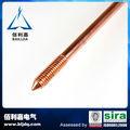 roscado de cobre recubierto de acero fabricante de rod