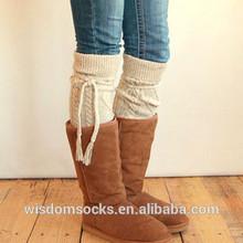Alpine Thigh High boot Slouch Socks