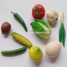 hot sell plastic miniature artificial vegetables,Artificial Vegetables Decorative Plastic Tomato Chilli Carrot Egg Home Decor