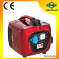 850w 220v portátil generador del inversor, gasolina potencia de generador