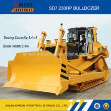 230HP SD7 Hydraulic Drive Track Dozer Crawler Bulldozer