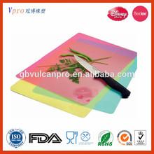 2014 Colorful Silicone Flexible Cutting Board