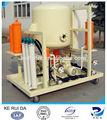 Zata vacío de aceite del transformador, Motor máquina del purificador de aceite usado para eliminar de agua, Decoloración, Y la eliminación de mecánico sólidos