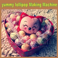 Professional stainless steel automatic depositing candy wrapping machine
