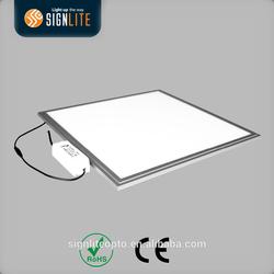 ultrathin LED panel light 600 600 mm,aluminium panel light frame,smd 5730 leds panel light with CE/ROHS Certification