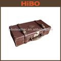 Caliente la venta de split de cuero caso de munición/cartucho de caso/caja de munición