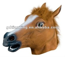 Horse Mask Latex Adult One Size fits all Costume mask - NEW FREE 2 DAY SHIP