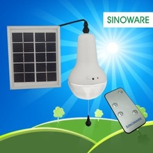 High Quality Factory Made LED Remote Control Solar Lamp For Home Indoor