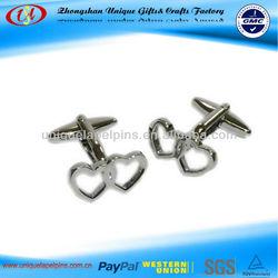 custom metal cufflink