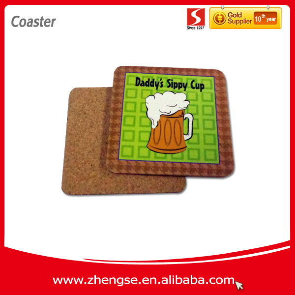 Promotionnel Cork Coaster / tapis de bière
