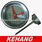 mini bimetal steak/meat thermometer