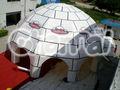 multi utiliza inflable cúpula del césped y la plaza 12m tiendas de campaña