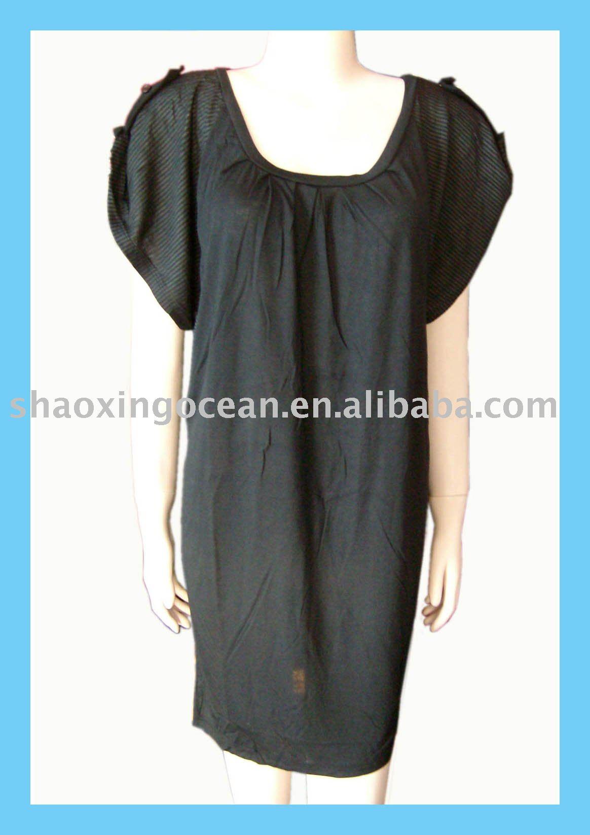 De la señora vestido corto, el vestido de moda