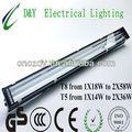 Al aire libre de aluminio de la lámpara a prueba de agua puede el uso de led( t8 serie: 1x18w a 2x70w)
