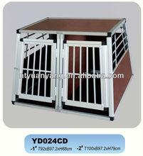 heavy duty folding aluminum dog cage kennel china cage wholesale