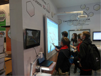 4 users infrared interactive whiteboard multi-touch