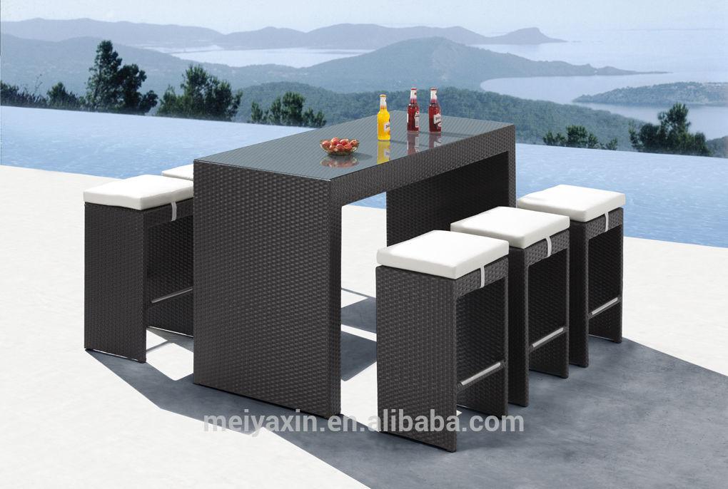 hd design outdoor furniture for sale rattan bar set pub furniture View pub f