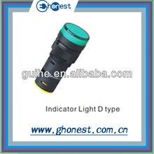 D type LED Indicator pilot lamp
