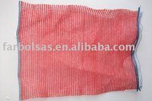 raschel mesh bags/leno mesh bag for potato and vegetable