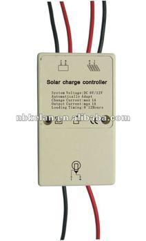 DC12V 1amp solar charge controller
