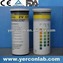 hospital chemical analysis urine strip 10SG CE ISO FDA