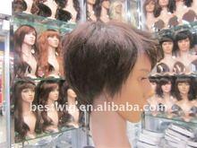 Short Hair wig toupee ,men hair wig