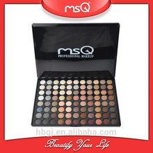 MSQ Wholesale 88 Colors Warm Eyeshadow Palette Makeup Kit