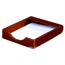 Edlegant leather desk tray,brown A05-40