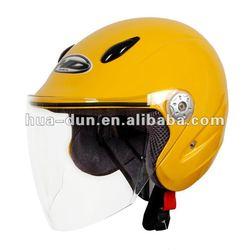 HUADUN colourful open Face Motorcycle Helmet, comfortable helmet, vintage helmet HD-535