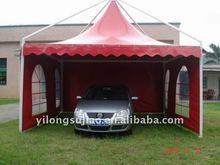 Summer pogoda tents material of pvc tarpaulin