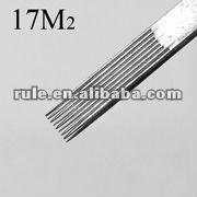 professional sterilized tattoo needle 17M2 series