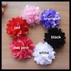 2014 handmade high quality satin silk flower hair accessories