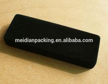 Customized black velvet dart quran box