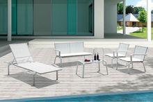 Euro 2014 Garden white modern sofas and armchairs Artificial Rattan wicker Garden furniture