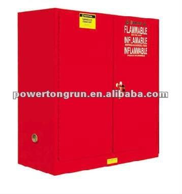 del gabinete de seguridad para los combustibles y líquidos inflamables