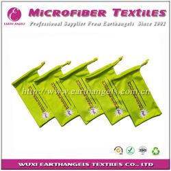 logo printing microfiber soft sunglasses bag,glasses pouch,moblie phone bag
