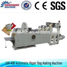 Paper bag for food making machine/paper bag machine