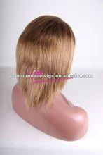 2012 hot selling virgin blonde wigs short hair