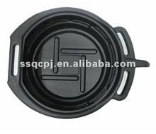 plastic oil drain pan for repair cars