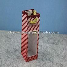 PVC window decorative gift paper bag