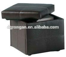 Orange Leather Nestable Home Storage CaseB01-153