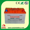 DIN-standard 12V 55Ah dry charged car battery