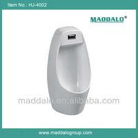 Popular Sale China Made White Ceramic Small size wall mounted sensor urinal