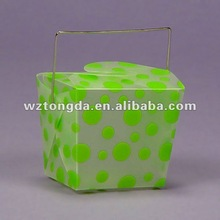 Printed pvc plastic handle Boxes/case(WZ5089)
