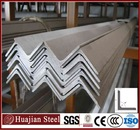 hot rolled equal steel angle iron weight price per ton Q235B SS400 ST37 material