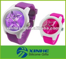 charming waterproof star women watch with factory price